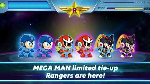 Introducing LINE Rangers & MEGA MAN Tie-Up Rangers!