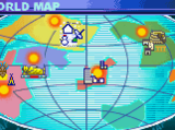 Mega Man Battle Network locations