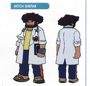 Concept art of Mitch Shepar