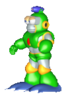 Bubble-Man-Model