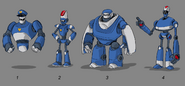 Mega Man Fully Charged Good Guild Concept A