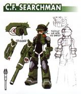 C.F. SearchMan - Raika concept art.
