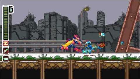 MegaMan Zero Game Boy Advance Longplay