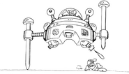 MM3 Wily Machine 3 concept 4