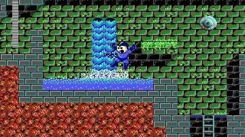Mega Man 3 PC DOS Stage 2 - Torch Man