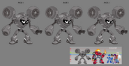 Mega Man Fully Charged Air Man Concept B