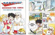Rockman the Comic 1 English Version