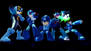 SSB4 - Mega Man Final Smash