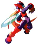 MMZ3 Zero (Shield Boomerang)