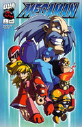 Mega Man Issue -1 (Variant --)