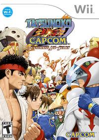 Tatsunoko vs. Capcom cover