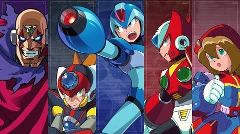Mega Man X Legacy Collection 1+2 Announce Trailer