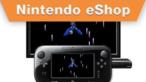 Nintendo eShop - Mega Man X2 on the Wii U Virtual Console