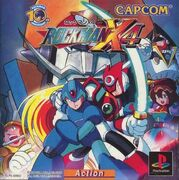 Rockman X4 (PlayStation) cover