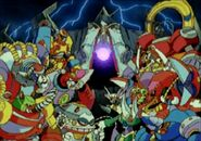 Mega Man X3 Opening Cutscene 5