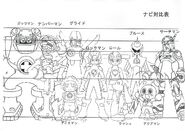 MegaMan NT Warrior - Sketch -2
