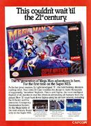 Mega Man X Advertisement