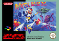 Mega Man X European Box Art