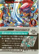 X and Zero vs Mix Forte Card