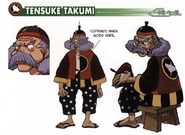 Tensuke Takumi concept art