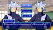 Mega Man Date My Robot Master - Gemini