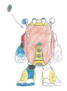 MMX2 Crystal Snail back
