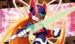 Rockman EXE 6 e-Reader card C008 artwork