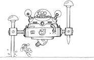 MM3 Wily Machine 3 concept 2