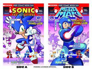 Sonic FCBD 2013