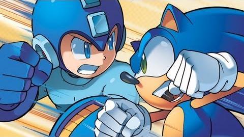 Sonic Mega Man - When Worlds Collide Trailer