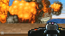 Bomberman destroys the boat