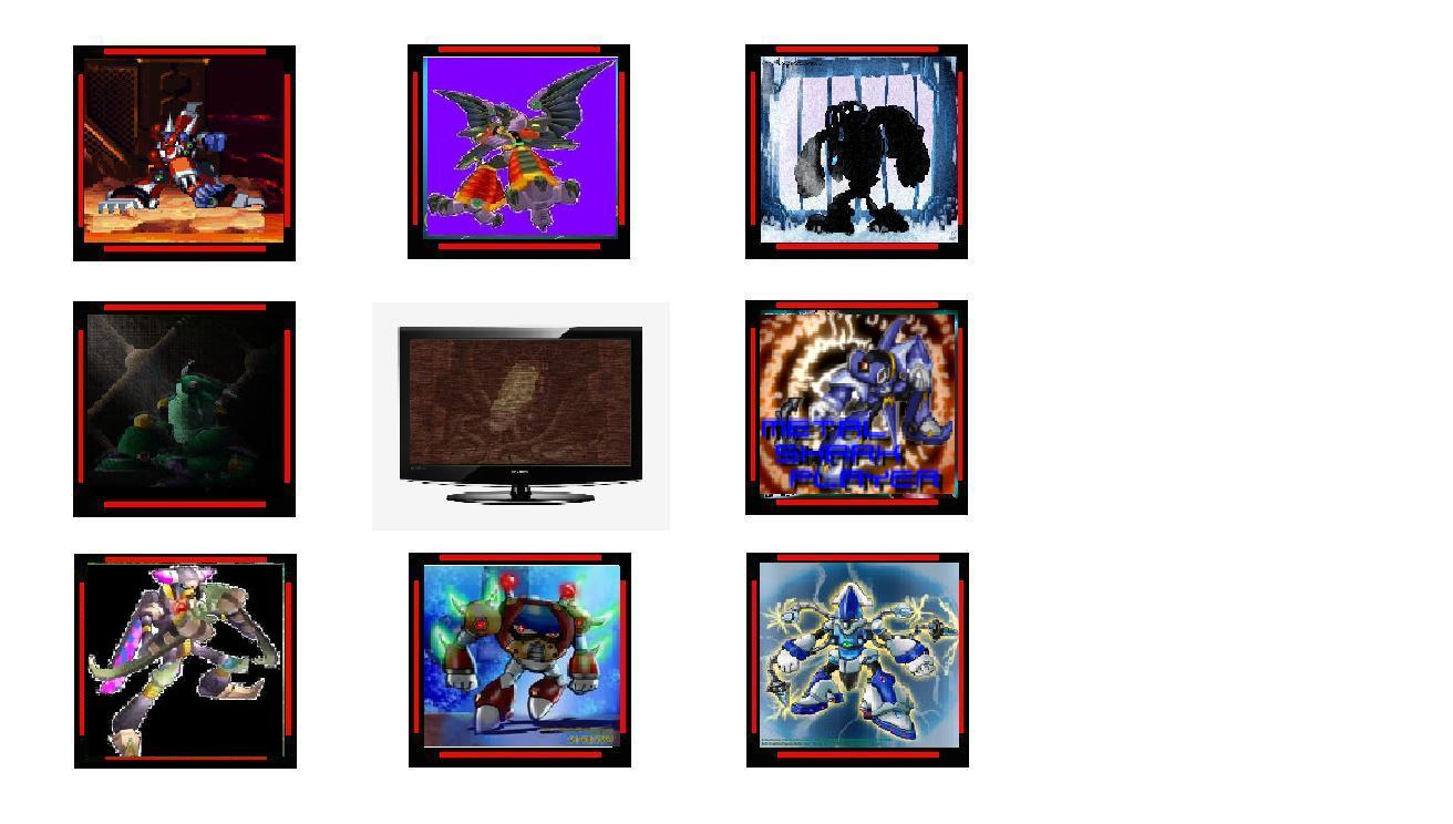 Stage select for MegaMan X FPS