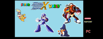 Super megaman x world portada
