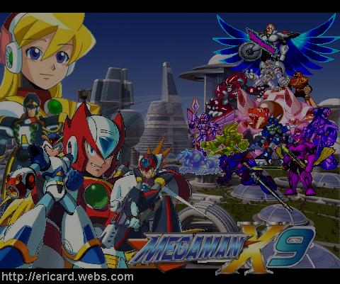 Megaman X9 wallpaper