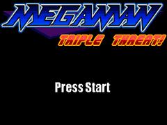 Mega Man Triple Threat