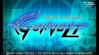 Azure Striker Gunvolt - Title & Intro Stage- 1st Sumeragi