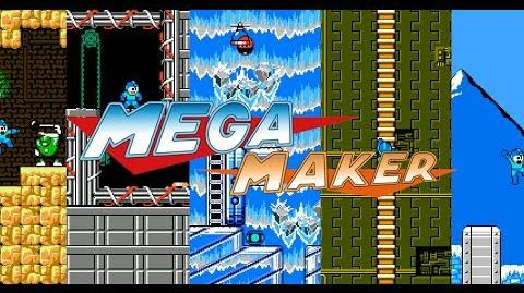 Mega Maker - Create your own Mega Man levels! - Official trailer