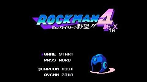 Rockman 4 EX Dr. Wily no Yabou!! (NES FC) - Longplay