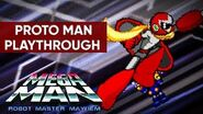 Mega Man Robot Master Mayhem (PC) - Proto Man Gameplay