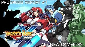 Maverick Hunter X Giga Mission Progress Trailer 1- All New Gameplay and More (Megaman X Fangame)