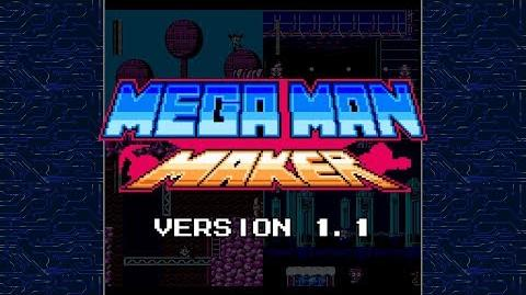 Mega Man Maker Version 1.1 is released!