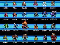 Mega Man Perfect Harmony Characters