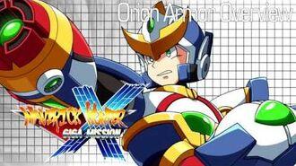 Maverick Hunter X Giga Mission Orion Armor Overview (Megaman X fangame)