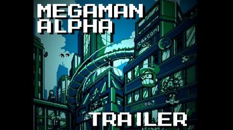 MegaMan Alpha Trailer