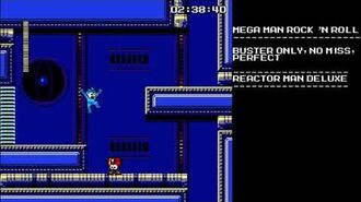 Mega Man Rock N Roll - Reactor Man Deluxe- Buster Only, Perfect, No Miss