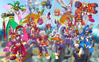 Megaman ZX Advent Wallpaper by Radz