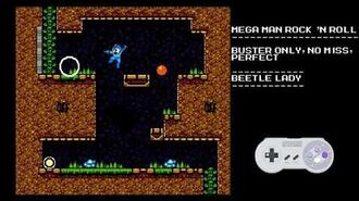 Mega Man Rock N Roll - Beetle Lady- Buster Only, Perfect, No Miss