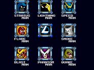 Mega Man Perfect Harmony Stage Select
