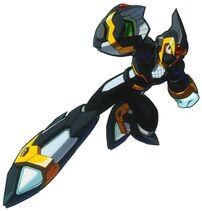 87842 mega-man-x6-x-shadow-armor