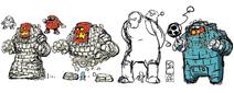 Mega Man 11 Block Man Concept Art 4